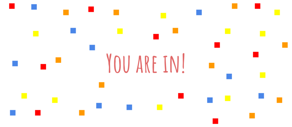 You are in